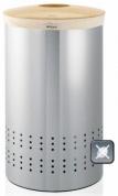 Подробнее о Бак для белья Brabantia 375309 (50 литров Matt Steel Fingerprint Proof (мат. сталь с защитой от отпечатков пальцев