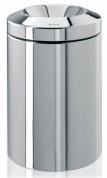 Подробнее о Корзина Brabantia 378881 для бумаг (15 литров несгораемая Brilliant Steel (сталь полированная