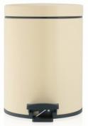 Подробнее о Ведро мусорное Brabantia 390142 с педалью (5 литров Almond (миндальный