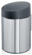 Подробнее о Ведро мусорное Brabantia Slide Bin 397127 (5 литров Brilliant Steel (сталь полированная
