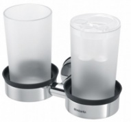 Подробнее о Держатель стаканов Brabantia 427527 двойной Brilliant Steel (сталь полированная