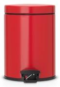 Подробнее о Ведро мусорное Brabantia 483707 с педалью (5 литров Red (красный