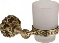 Подробнее о Стакан Bronze de LUX K25006 настенный бронза / стекло матовое