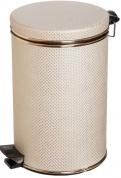 Подробнее о Ведро Cameya 03LG-10-9 для мусора (3 литра) бежевый/золото