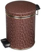Подробнее о Ведро Cameya 05FDH-10-9 для мусора (5 литров) коричневый/хром