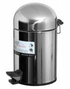 Подробнее о Ведро Cameya 05TO-10-9 для мусора (5 литров) хром