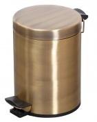 Подробнее о Ведро Cameya 05TT-20-9 для мусора (5 литров) бронза