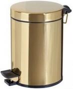 Подробнее о Ведро Cameya 05TT-40-9 для мусора (5 литров) золото