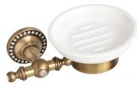 Подробнее о Мыльница Cameya A1403K настенная бронза/Swarovski/керамика