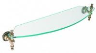 Подробнее о Полка Cameya A1405 стеклянная 60 см бронза/Swarovski