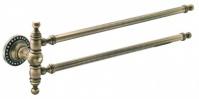 Подробнее о Полотенцедержатель Cameya A1406 двойной бронза/Swarovski