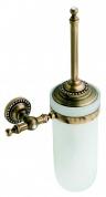 Подробнее о Ершик Cameya A1410 для туалета настенный бронза/Swarovski/стекло