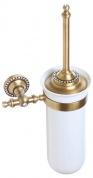 Подробнее о Ершик Cameya A1410K для туалета настенный бронза/Swarovski/керамика белая