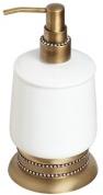 Подробнее о Дозатор жидкого мыла Cameya A1412K настольный бронза/Swarovski/керамика