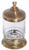 Подробнее о Контейнер Cameya A1415 настольный бронза/Swarovski/стекло прозрачное