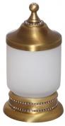 Подробнее о Контейнер Cameya A1415M настольный бронза/Swarovski/стекло матовое