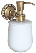 Подробнее о Дозатор жидкого мыла Cameya A1417K настенный бронза/Swarovski/керамика