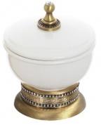 Подробнее о Контейнер Cameya A1418K настольный бронза/Swarovski/керамика