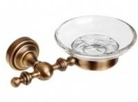 Подробнее о Мыльница Cameya Rychmond A1603 настенная бронза/стекло