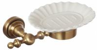 Подробнее о Мыльница Cameya Rychmond A1603KOB настенная бронза/керамика барокко