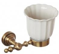 Подробнее о Стакан Cameya Rychmond A1604KB настенный бронза/керамика барокко
