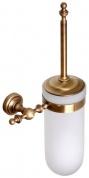 Подробнее о Ершик Cameya Rychmond A1610 для туалета настенный бронза/стекло матовое