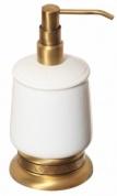 Подробнее о Дозатор жидкого мыла Cameya Rychmond A1612K настольный бронза/керамика