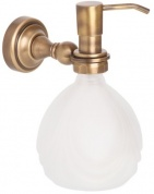 Подробнее о Дозатор жидкого мыла Cameya Rychmond A1621 настенный бронза/стекло матовое