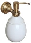 Подробнее о Дозатор жидкого мыла Cameya Rychmond A1621K настенный бронза/керамика