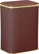 Подробнее о Корзина Cameya FDG-M для белья 45 х h48 см цвет коричневый (кант золотой)