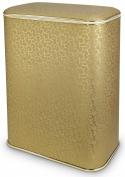 Подробнее о Корзина Cameya Flower FGG-B для белья 45 х h60 см цвет золото (кант золото)