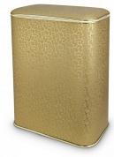 Подробнее о Корзина Cameya Punto FGG-M для белья 45 х h48 см цвет золото (кант золото)