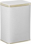 Подробнее о Корзина Cameya FWG-M для белья 45 х h48 см цвет белый (кант золотой)