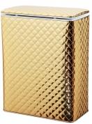 Подробнее о Корзина Cameya GC-B для белья 45 х h60 см цвет золото