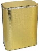 Подробнее о Корзина Cameya GKR-M для белья 45 х h48 см цвет золото