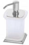 Подробнее о Дозатор жидкого мыла Cameya Boston H1512 настольный хром/стекло матовое