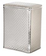 Подробнее о Корзина Cameya HC-M для белья 45 х h48 см стеганая цвет серебро