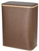 Подробнее о Корзина Cameya KDG-M для белья 45 х h48 см цвет темно-коричневый (кант золотой)