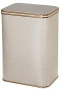 Подробнее о Корзина Cameya KLG-B для белья 45 х h60 см цвет серый (кант золотой)