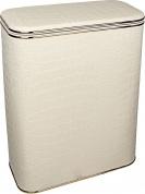 Подробнее о Корзина Cameya KLG-BG для белья 45 х h60 х 32 см глубокая цвет бежевый (кант золотой)