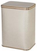 Подробнее о Корзина Cameya KLG-M для белья 45 х h48 см цвет серый (кант золотой)