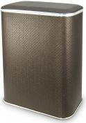 Подробнее о Корзина Cameya Punto PCH-B для белья 45 х h60 см цвет коричневый (кант хром)
