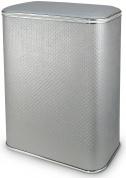 Подробнее о Корзина Cameya Punto PGH-B для белья 45 х h60 см цвет серый (кант хром)