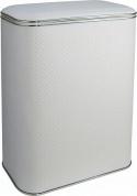 Подробнее о Корзина Cameya Punto PWH-B для белья 45 х h60 см цвет белый (кант хром)