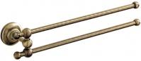 Подробнее о Полотенцедержатель Carbonari Gamma Anticata ADGA ANT BR двойной 30 см античная бронза