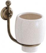 Подробнее о Стакан Carbonari Teresa Anticata PBTE ANT BR подвесной античная бронза / керамика белая