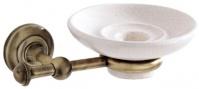 Подробнее о Мыльница Carbonari Gamma Anticata PSGA ANT BR подвесная античная бронза / керамика белая