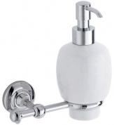 Подробнее о Дозатор для мыла Carbonari Gamma PSGA2 CR подвесной хром / керамика белая
