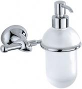 Подробнее о Дозатор для мыла Carbonari Riccio PSRI2 подвесной хром / стекло матовое