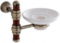 Подробнее о Мыльница Carbonari Silvia Anticata  PSSI ANT BR подвесная античная бронза /керамика белая